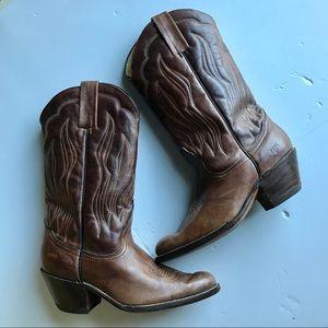 Frye Vintage Pull-On Men's Cowboy Western Boot